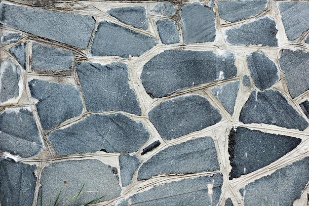 Fundo de pedra cinza e texturizado