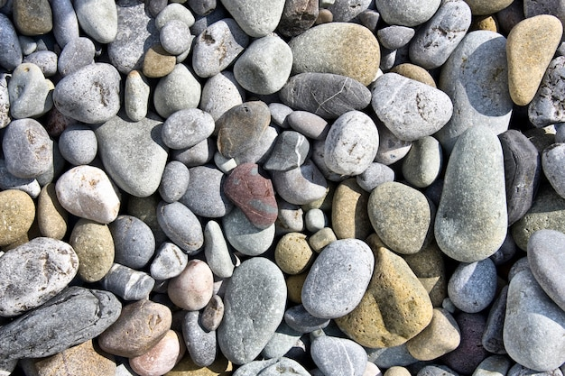 Fundo de pedra do mar