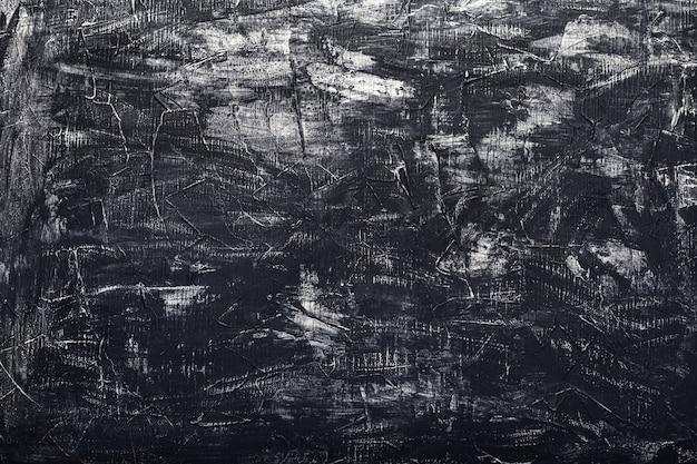 Fundo de pedra escura velho de textura de concreto preto. textura de gesso velho riscado grunge escuro.