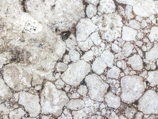 Fundo de pedra rachada