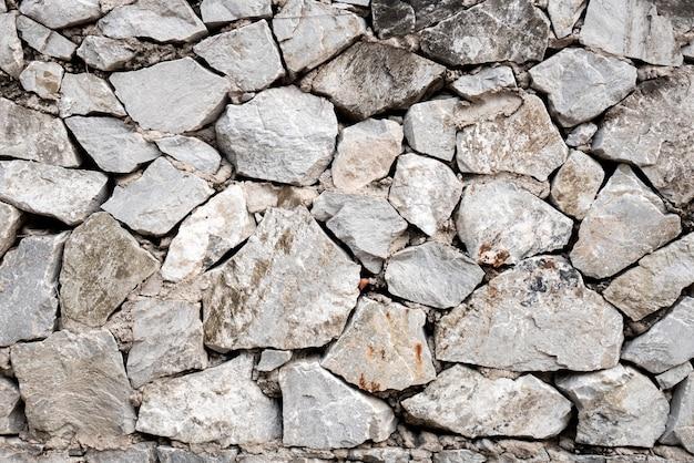 Fundo de pedra redonda e pentágono