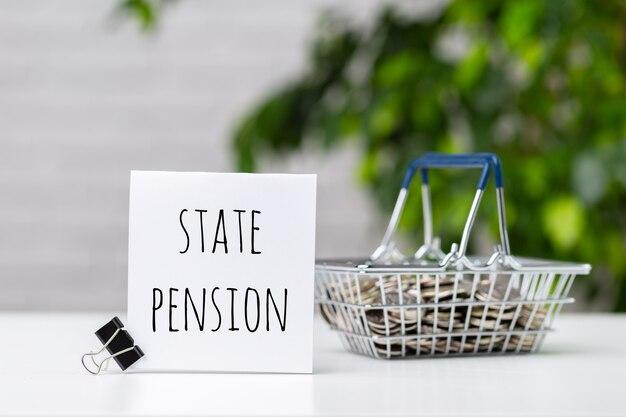 Fundo de pensões e aposentadoria composição do conceito de negócio