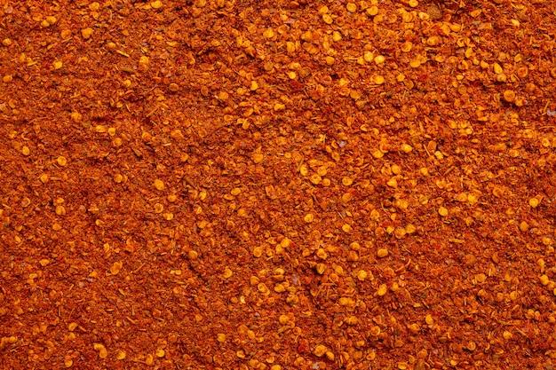 Fundo de pimenta-caiena seca