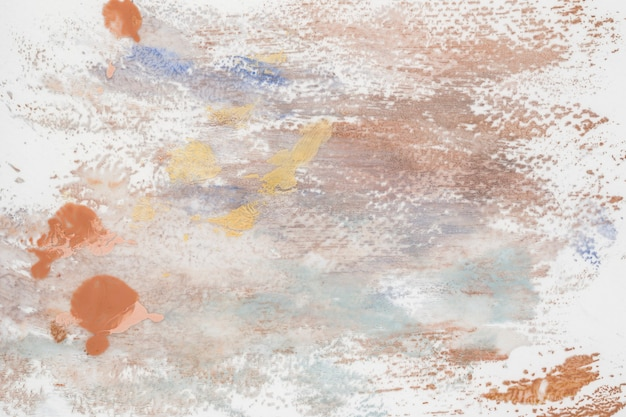 Fundo de pincelada acrílica colorida