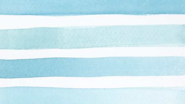 Fundo de pincelada aquarela azul