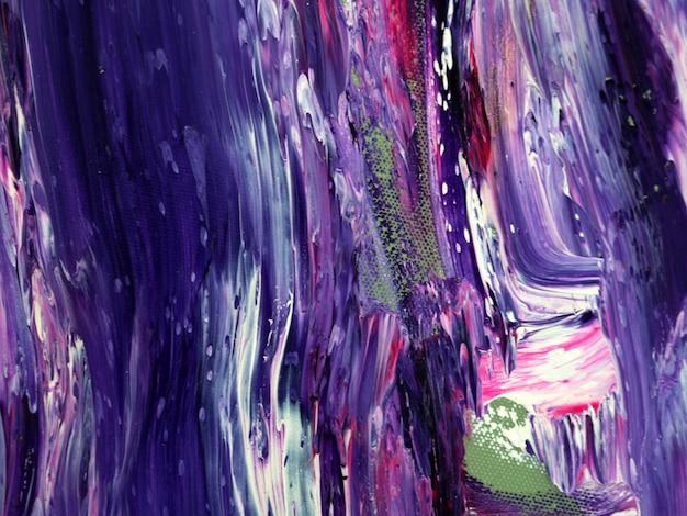 Fundo de pintura a óleo de cor roxa