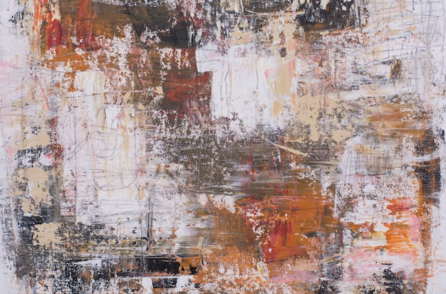 Fundo de pintura de cor de óleo