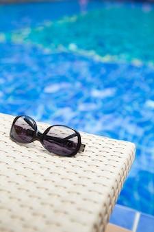 Fundo de piscina para resumo e verão