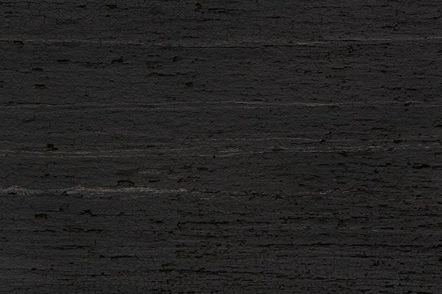 Fundo de piso preto rústico com textura de madeira