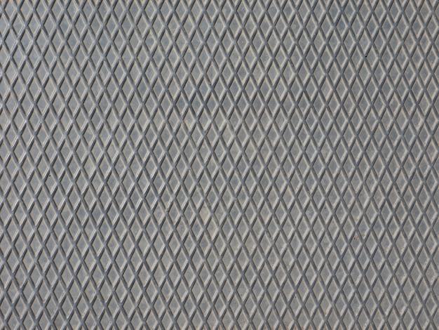 Fundo de placa de diamante de aço cinza