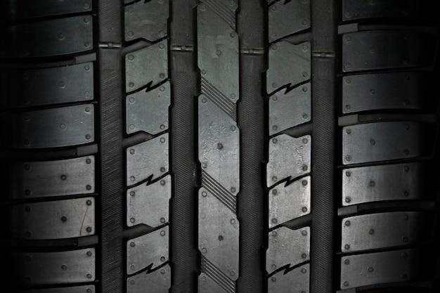 Fundo de pneu de carro, fundo de closeup de textura de pneu