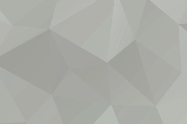 Fundo de polígono em mosaico abstrato bege