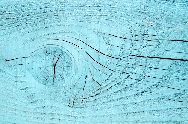 Fundo de prancha de madeira natural vazio azul turquesa