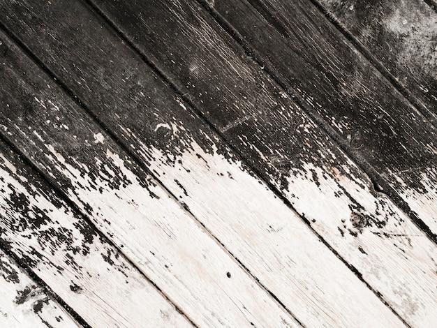 Fundo de prancha de madeira velha resistida