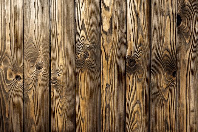 Fundo de pranchas de madeira