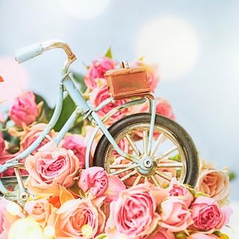 Fundo de primavera com flor