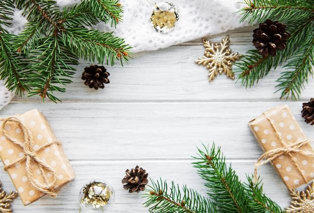 Fundo de quadro de férias de natal