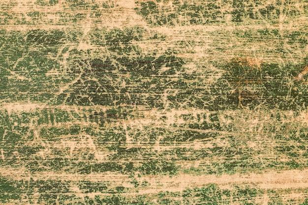 Fundo de quadro verde pintado de madeira vintage velho