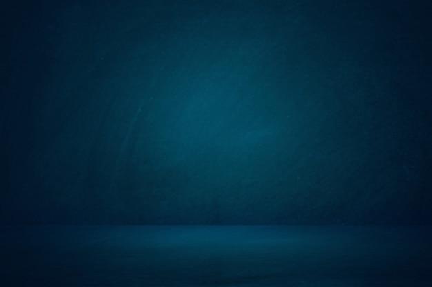 Fundo de quarto estúdio azul escuro