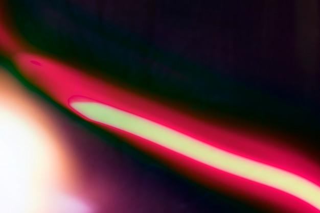 Fundo de raia de luz de néon