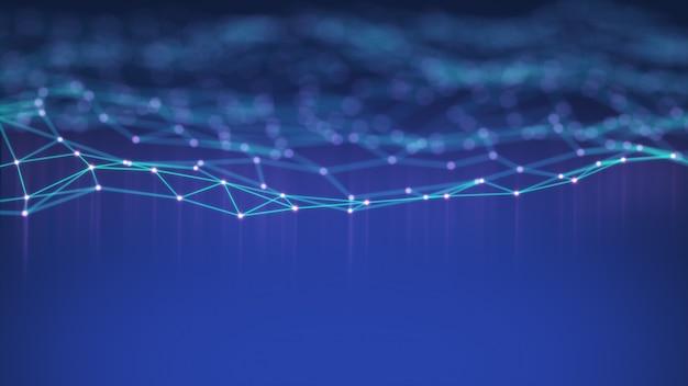 Fundo de rede de tecnologia.