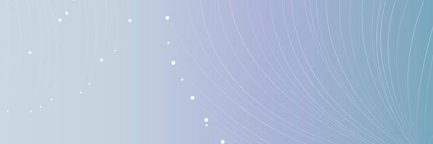 Fundo de rede futurista de linhas de partícula