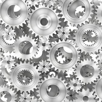 Fundo de renderização 3d do gears