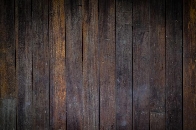 Fundo de repetição de cor de madeira escura