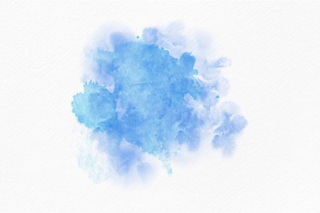 Fundo de respingo abstrato aquarela azul