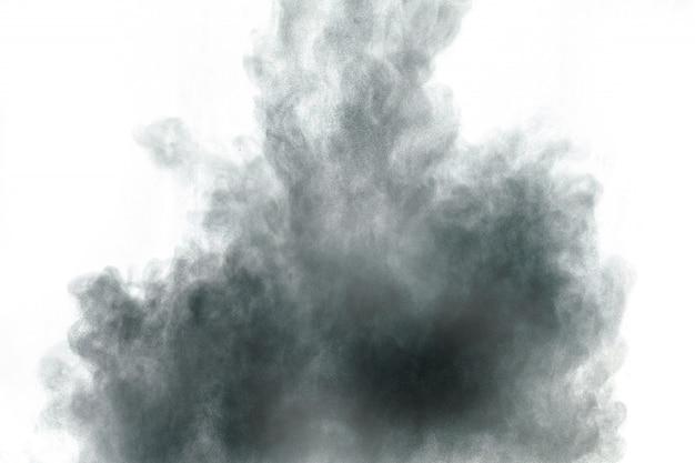 Fundo de respingo de partículas de poeira
