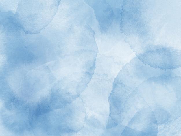 Fundo de respingo de pincel aquarela azul pálido