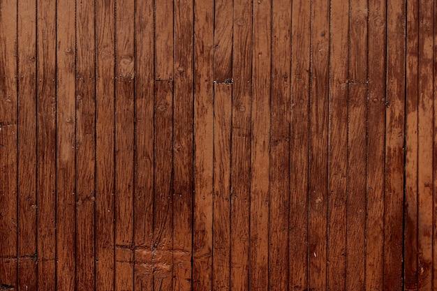 Fundo de ripas de madeira
