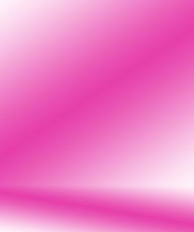 Fundo de sala de estúdio de rosa claro liso vazio abstrato, usar como montagem para exposição de produto, banner, modelo.