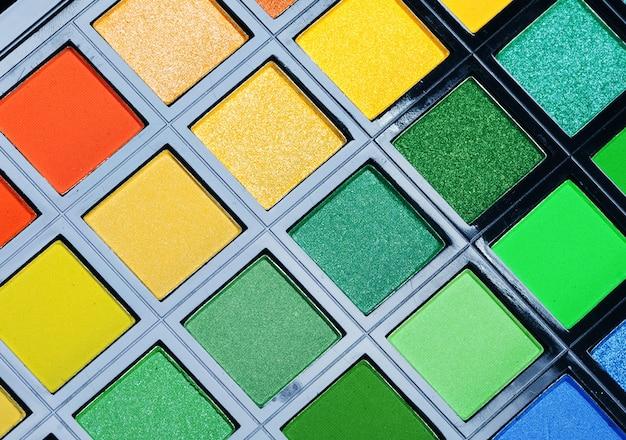 Fundo de sombras multicoloridas