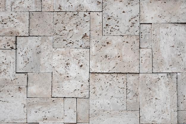 Fundo de superfície de pedra quadrada elegante moderno