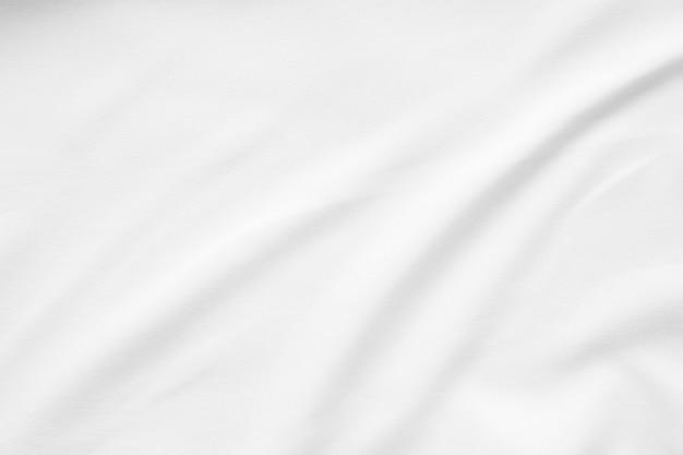 Fundo de superfície de textura lisa de tecido branco