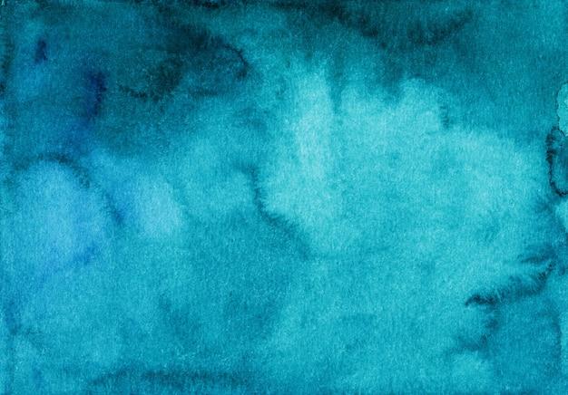 Fundo de superfície em aquarela turquesa