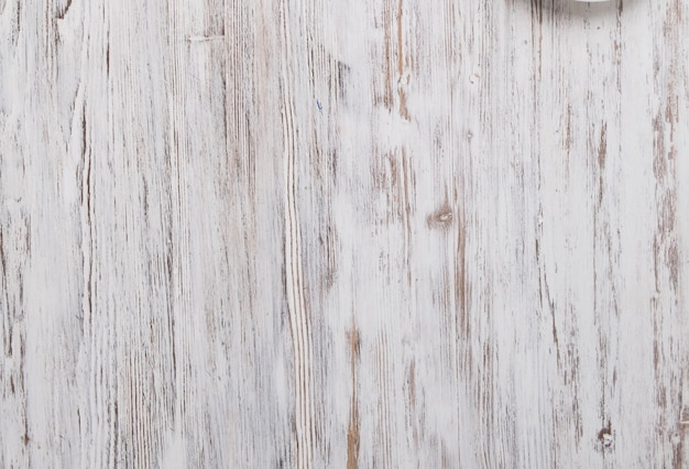 Fundo de tábuas de madeira brancas