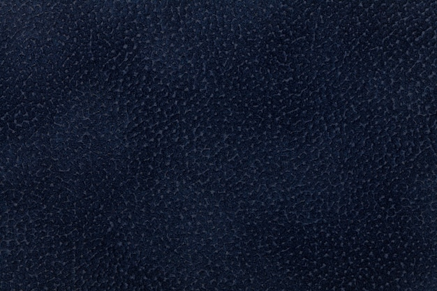 Fundo de tecido azul escuro decorado com animal casaco.