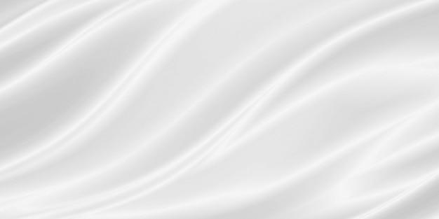 Fundo de tecido branco de luxo com espaço de cópia