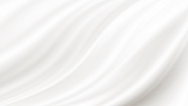 Fundo de tecido branco luxo com espaço de cópia
