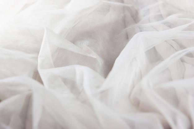 Fundo de tecido chiffon