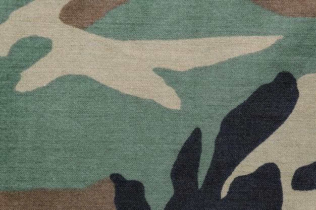 Fundo de tecido de camuflagem