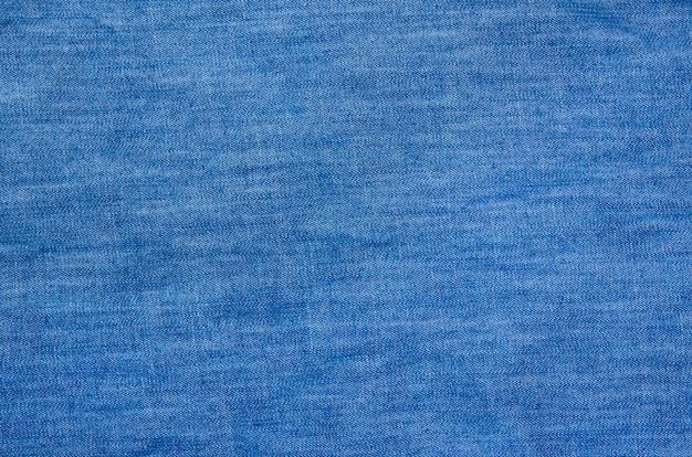 Fundo de tecido de linho jeans azul listrado texturizado