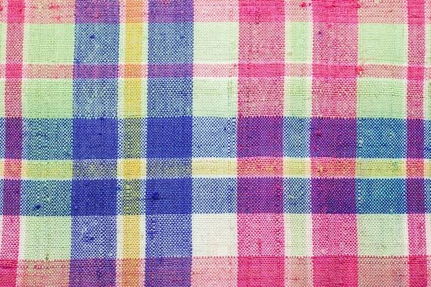 Fundo de tecido de tanga tailandesa colorida