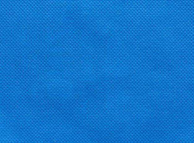 Fundo de tecido não tecido azul profundo