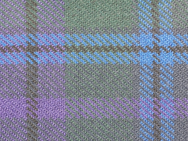 Fundo de tecido tartan