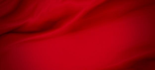 Fundo de tecido vermelho luxo