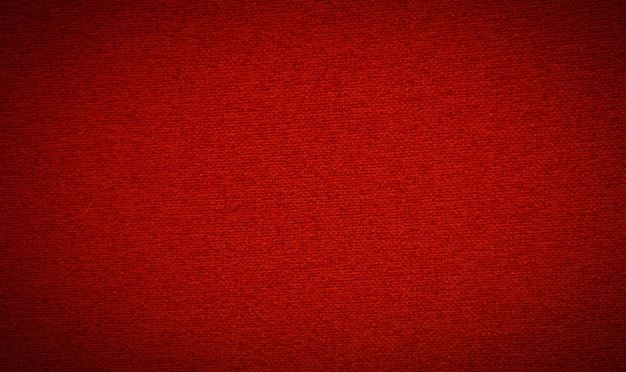 Fundo de tecido vermelho têxtil vermelho