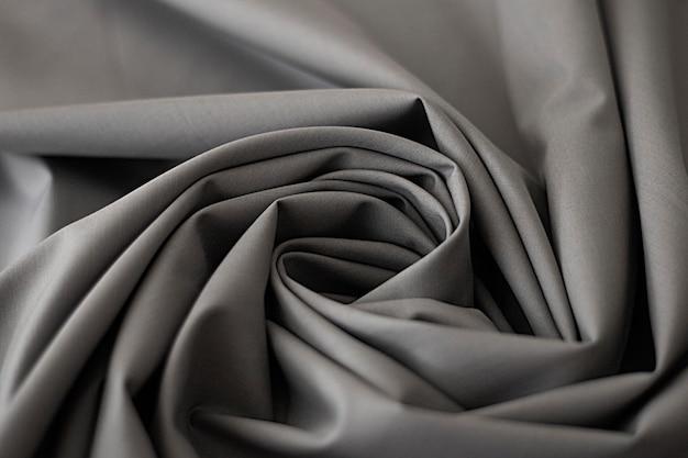 Fundo de tecidos cinza